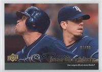 Evan Longoria, James Shields (Tampa Bay Rays Team Checklist) /99