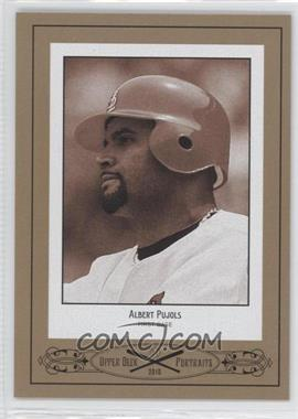 2010 Upper Deck Portraits #SE-81 - Albert Pujols