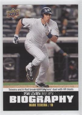 2010 Upper Deck Season Biography #SB-52 - Mark Teixeira