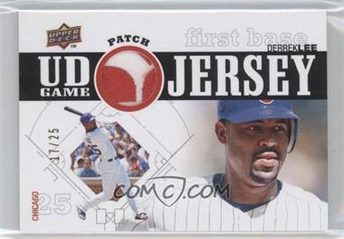 2010 Upper Deck UD Game Jersey Patch #UDGP-DL - Derrek Lee /25