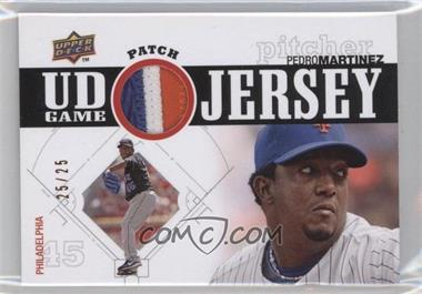 2010 Upper Deck UD Game Jersey Patch #UDGP-PM - Pedro Martinez /25