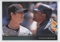 Tim Lincecum, Pablo Sandoval (San Francisco Giants Team Checklist)