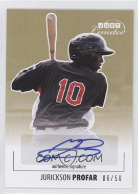 2011-12 Just Minors - Just Limited - Gold Certified Autograph [Autographed] #JL16 - Jurickson Profar /50