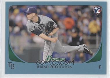 2011 Bowman - [Base] - Blue #199 - Jeremy Hellickson /500