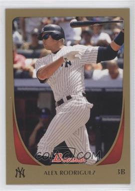 2011 Bowman - [Base] - Gold #170 - Alex Rodriguez