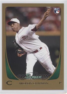 2011 Bowman - [Base] - Gold #197 - Aroldis Chapman
