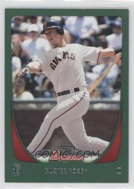 2011 Bowman - [Base] - Green #1 - Buster Posey /450