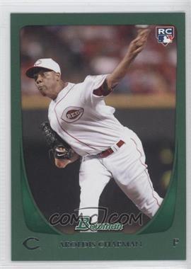 2011 Bowman - [Base] - Green #197 - Aroldis Chapman /450
