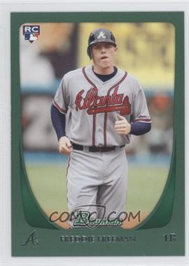 2011 Bowman - [Base] - Green #205 - Freddie Freeman /450