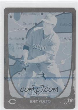 2011 Bowman - [Base] - International Printing Plate Cyan #18 - Joey Votto /1