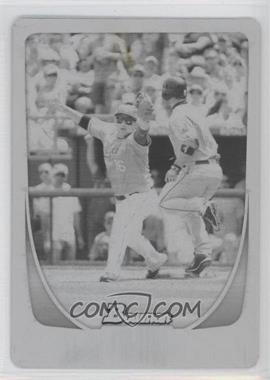 2011 Bowman - [Base] - Printing Plate Black #113 - Billy Butler /1