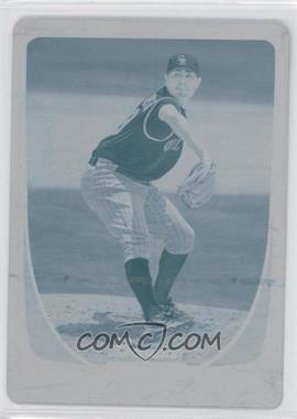 2011 Bowman - [Base] - Printing Plate Cyan #57 - Jorge de la Rosa /1
