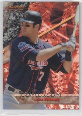 2011 Bowman - Bowman's Best - Refractor #BB22 - Joe Mauer /99