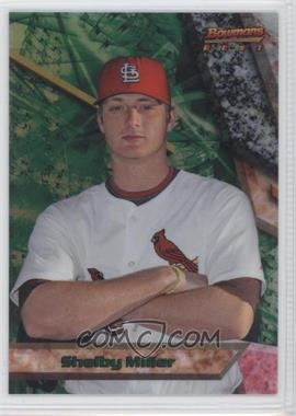 2011 Bowman - Bowman's Best Prospects - Refractor #BBP52 - Shelby Miller /99