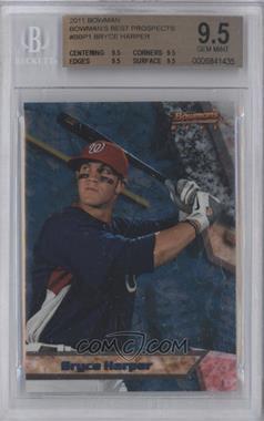 2011 Bowman - Bowman's Best Prospects #BBP1 - Bryce Harper [BGS9.5]