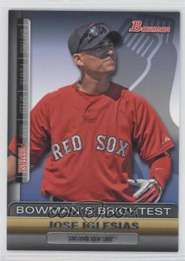 2011 Bowman - Bowman's Brightest #BBR21 - Jose Iglesias