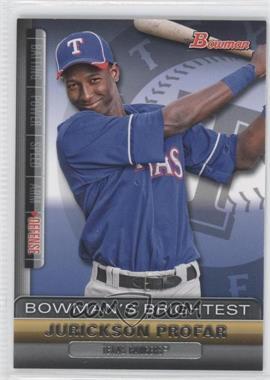 2011 Bowman - Bowman's Brightest #BBR23 - Jurickson Profar