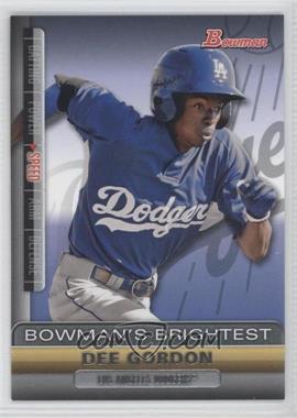 2011 Bowman - Bowman's Brightest #BBR7 - Dee Gordon
