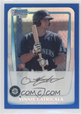 2011 Bowman - Chrome Prospects - Blue Refractor #BCP23 - Vinnie Catricala /250