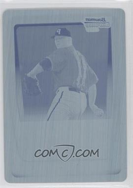 2011 Bowman - Chrome Prospects - Printing Plate Cyan #BCP191 - Colton Cain /1