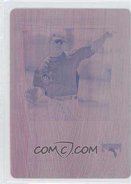 2011 Bowman - Chrome Prospects - Printing Plate Magenta #BCP201 - Brock Holt /1