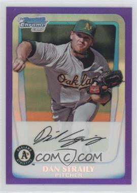 2011 Bowman - Chrome Prospects - Purple Refractor #BCP53 - Dan Straily /700