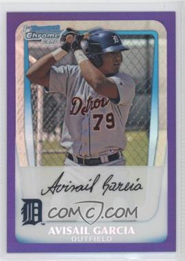 2011 Bowman - Chrome Prospects - Purple Refractor #BCP72 - Avisail Garcia /700
