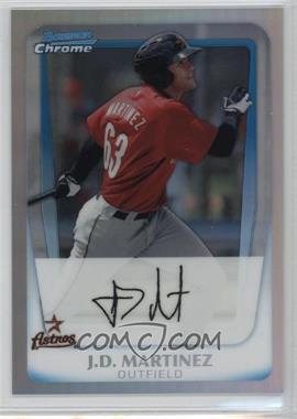 2011 Bowman - Chrome Prospects - Refractor #BCP92 - J.D. Martinez /799