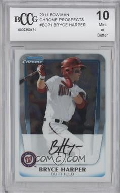 2011 Bowman - Chrome Prospects #BCP1 - Bryce Harper [ENCASED]