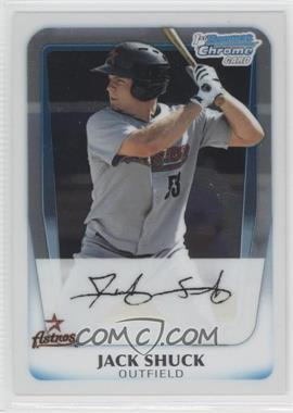 2011 Bowman - Chrome Prospects #BCP11 - Jack Shuck