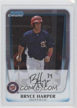 2011 Bowman - Chrome Prospects #BCP111 - Bryce Harper