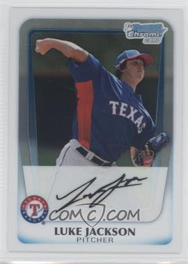 2011 Bowman - Chrome Prospects #BCP124 - Luke Jackson