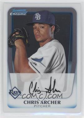 2011 Bowman - Chrome Prospects #BCP134 - Chris Archer