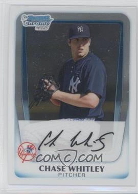 2011 Bowman - Chrome Prospects #BCP155 - Chase Whitley