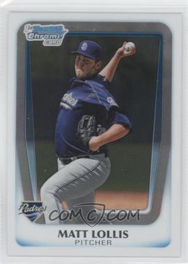 2011 Bowman - Chrome Prospects #BCP176 - Matt Lollis