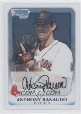 2011 Bowman - Chrome Prospects #BCP181 - Anthony Ranaudo