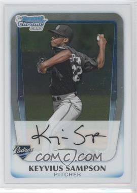 2011 Bowman - Chrome Prospects #BCP182 - Keyvius Sampson