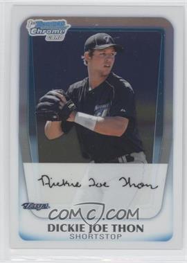 2011 Bowman - Chrome Prospects #BCP184 - Dickie Joe Thon