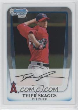 2011 Bowman - Chrome Prospects #BCP194 - Tyler Skaggs
