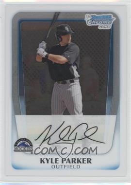 2011 Bowman - Chrome Prospects #BCP197 - Kyle Parker