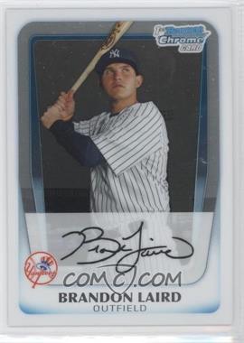 2011 Bowman - Chrome Prospects #BCP214 - Brandon Laird