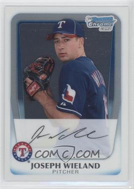 2011 Bowman - Chrome Prospects #BCP33 - Joseph Wieland
