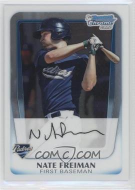 2011 Bowman - Chrome Prospects #BCP4 - Nate Freiman