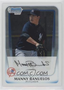 2011 Bowman - Chrome Prospects #BCP44 - Manny Banuelos