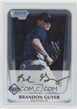 2011 Bowman - Chrome Prospects #BCP45 - Brandon Guyer