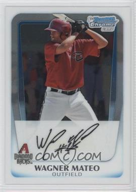 2011 Bowman - Chrome Prospects #BCP88 - Wagner Mateo