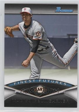 2011 Bowman - Finest Futures #FF25 - Madison Bumgarner