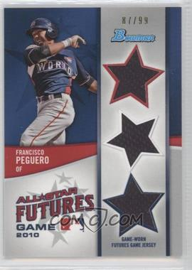 2011 Bowman - Future's Game Triple Relics #FGTR-FP - Francisco Peguero /99