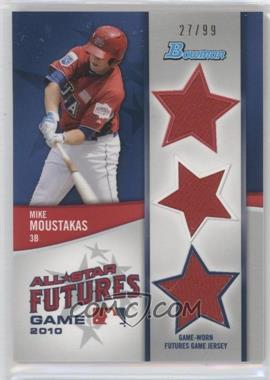 2011 Bowman - Future's Game Triple Relics #FGTR-MMO - Mike Moustakas /99