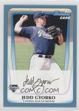 2011 Bowman - Prospects - Blue #BP83 - Jedd Gyorko /500